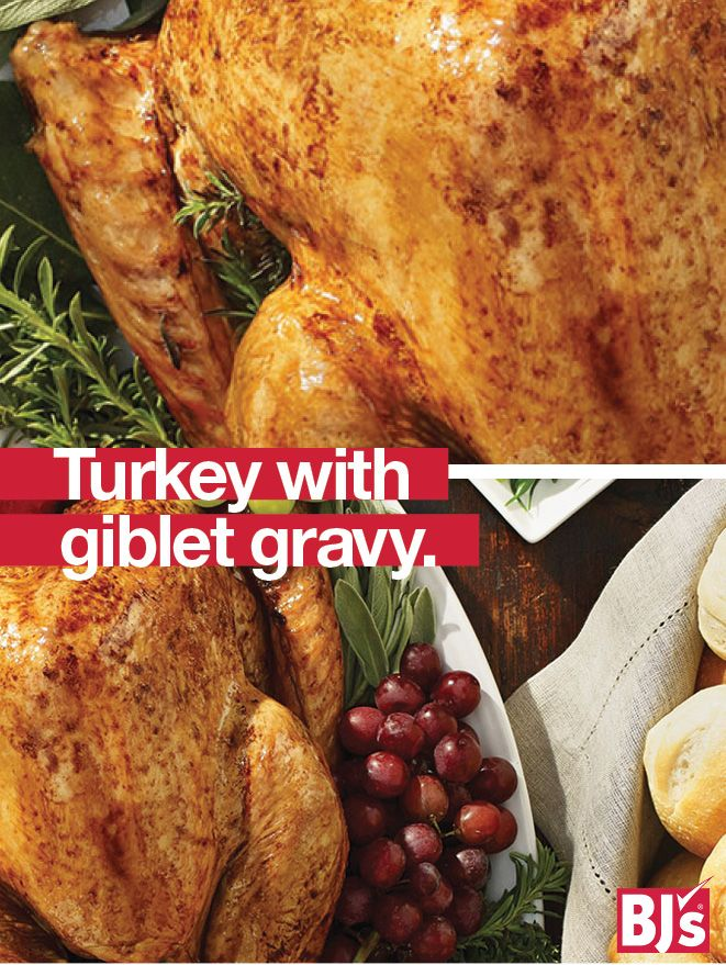 Traditional Turkey Recipe - Step-by-step directions for perfect roast turkey with a classic turkey giblet gravy just like Grandma's. http://stocked.bjs.com/food/recipes/holiday-turkey-giblet%C2%A0gravy