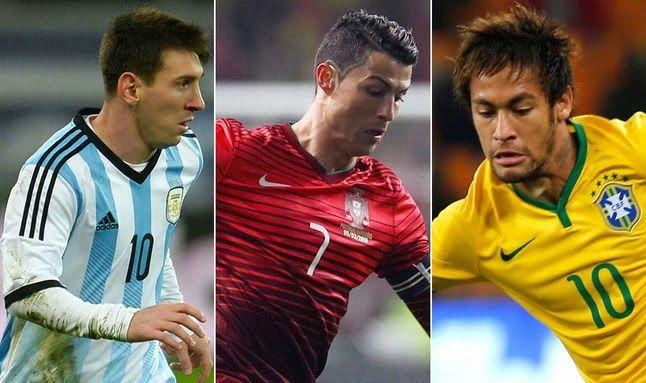 ONZE!FUTEBOL: Um deles será o cara da Copa do Mundo!