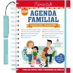 Agenda familial Mémoniak 2015-2016