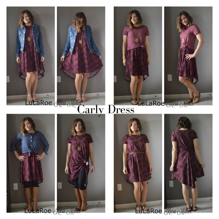 8 ways to style a LuLaRoe Carly swig dress for spring and summer fashion trends and style inspiration.  Shop here: https://www.facebook.com/groups/LularoeKaraMiller/