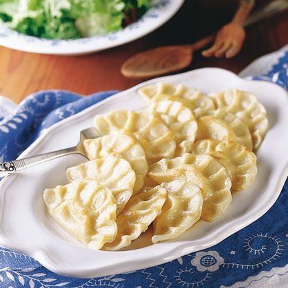 Potato Pierogi Recipe | Spoonful | Pampered Chef | Pinterest | Pierogi ...