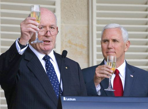 U.S. Vice President Mike Pence and Australia's prime minister swept aside any lingering tensions Saturday over an Obama era agreement on the resettlement of refugees, joining forces to urge China to take a greater role in pressuring North Korea to scuttle its nuclear weapons and missile program.