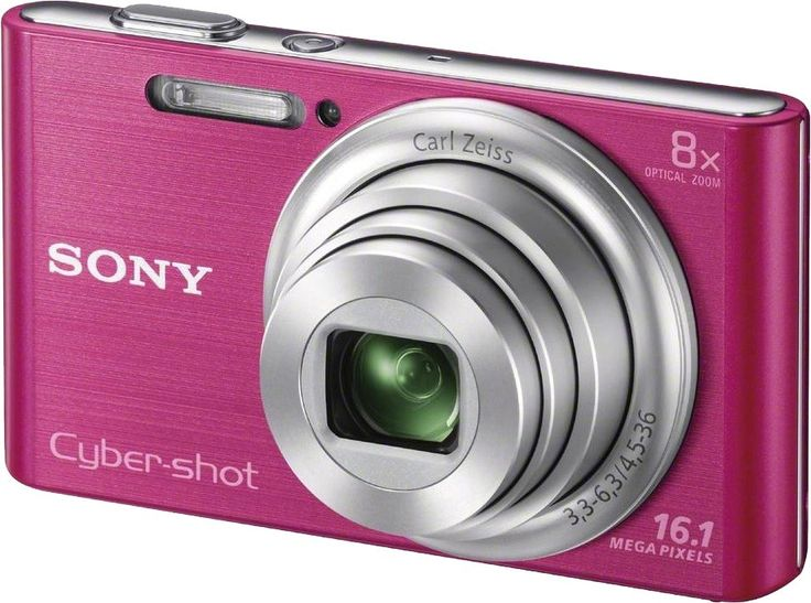 Sony DSC-W730 / P 16.1 MP cámara digital con pantalla LCD de 2.7 pulgadas (rosa)