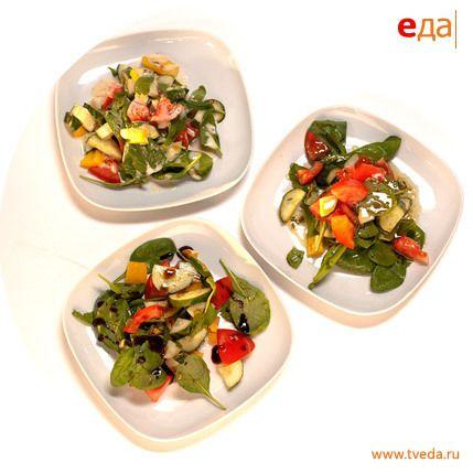 Рецепт. Соусы к овощному салату