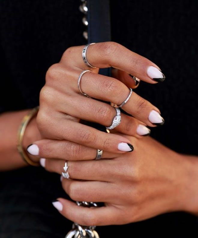 Best Nail Polish Colors For Medium Skin: 80 Best Images About NAILS STYLE FOR BLACK GIRLS On