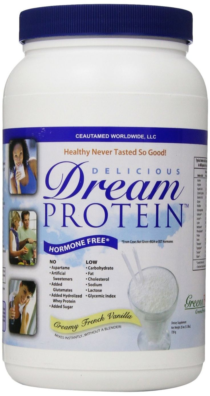 Greens First Dream Protein Vanilla from Jule's Wellness