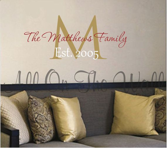Best Family Decals Images On Pinterest - Custom vinyl wall decals sayings for family room