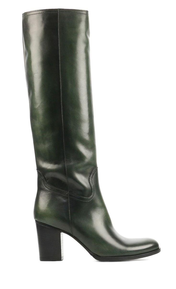 Groene Mace laarzen - Van den Assem