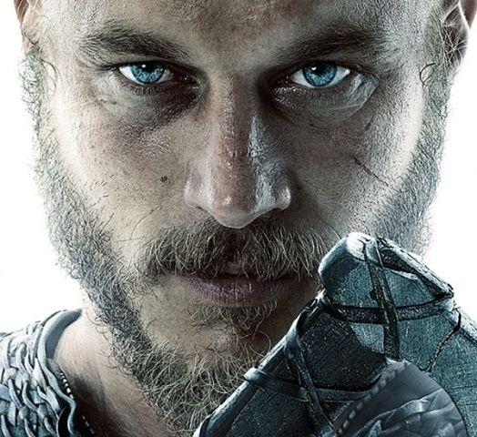 ragnar lothbrok from Vikings...actor Travis Fimmel