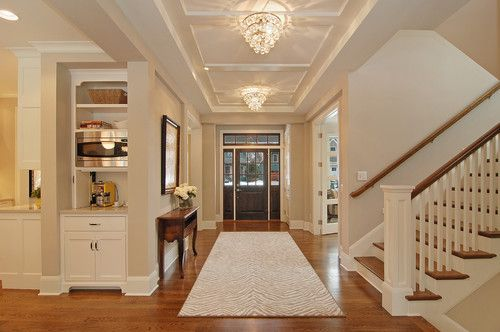 Large Open Foyer : Wide stair case woman cave ideas pinterest open
