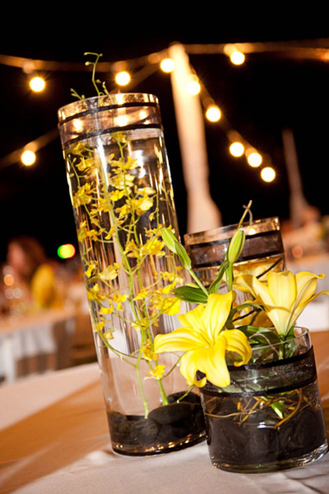 86 Best Centrepieces Cylinder Vases Images On Pinterest