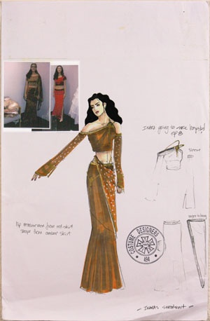 Production Used Print of Inara Serra from Firefly by Shawna Trpcic | eBay