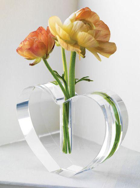 Blooming Heart Vase
