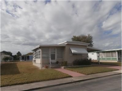 NEW FOR SALE: 3347 Hampshire Dr, Holiday, FL 34690 $37,000 - Very cute single wide mobile home located in an active 55+ community... comes furnished 1 bedroom, 1 bath home. Enclosed porch, air condition with windows air being used as 2nd bedroom-screen enclosed lanai behind storage shed. — My Florida Regional MLS #: W7625114