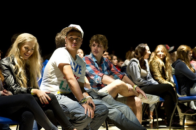 Students at the Freshers' Address