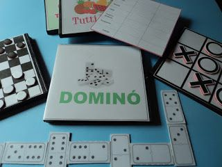 Juegos de mesa reciclando cajas de Dvd #patrones #imprimiblesgratis