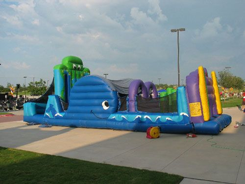 Under the Sea Obstacle Challenge