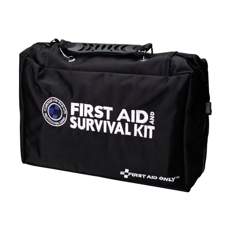 First Aid Only Survival First Aid Kit - 167 Pieces - FA-462