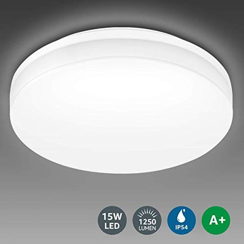 Le Bathroom Led Ceiling Light 100w Equivalent 15w 1250lm