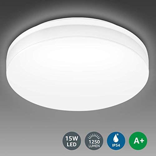 Le Bathroom Led Ceiling Light 100w Equivalent 15w 1250lm