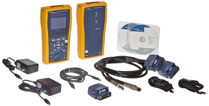 Fluke Networks DTX-LT 120 CableAnalyzer. Copper cable certification tester performs extended certification of high-speed networks to 350 MHz. Performs Category 6 autotest on shielded and unshielded twisted pair LAN cabling (STP, FTP, SSTP, and UTP). Stores up to 250 qualification test results and downloads results to a computer for analysis and generation of network certification reports. Talk features enable operators to communicate between the main and remote units.