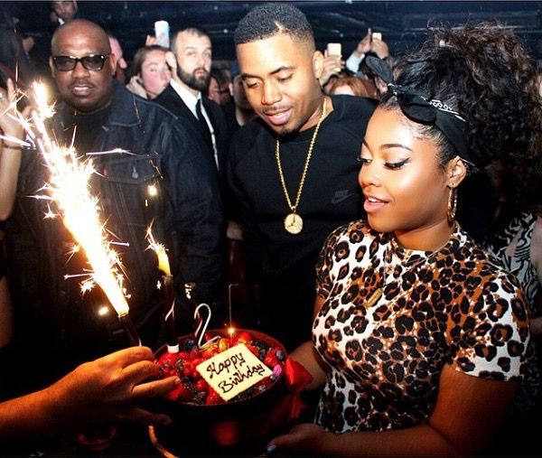Nas Daughter Destiny Jones Celebrates Her 21st Birthday