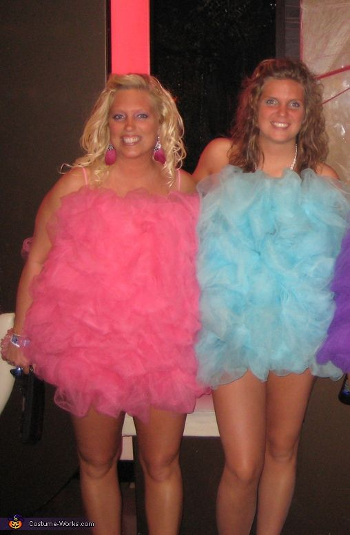 loofah costumes funny halloween costumeshalloween costume contestgirl - 3 Girl Costumes Halloween