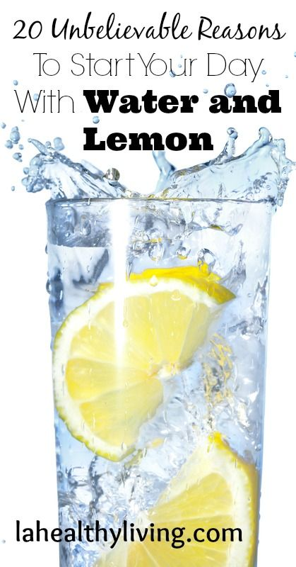 20 Unbelievable Reasons To Start Your Day With Water and Lemon #lemonwater #detox #cleanse