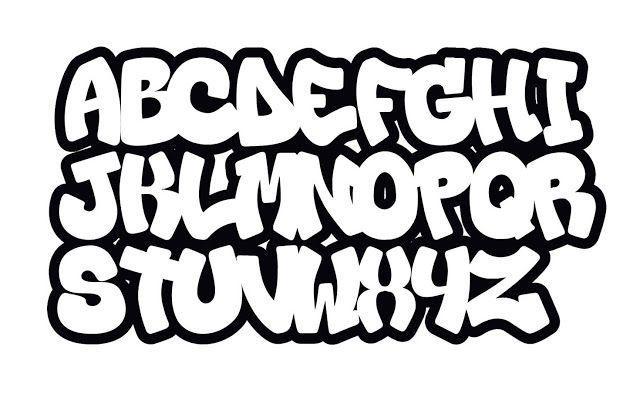 Graffiti Alphabet Fonts Abc Graffiti Schriftart 10