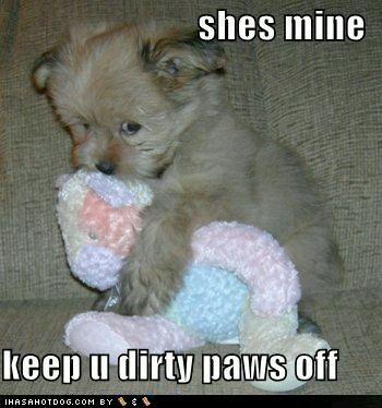 Es mio,  no lo toques