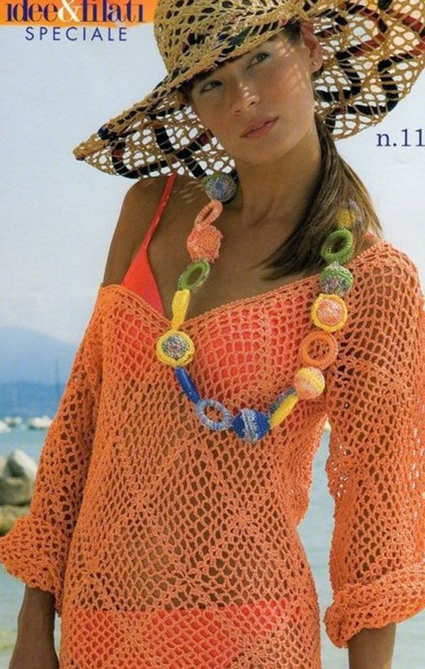 Top 10 Crochet Cover Ups Diagrams