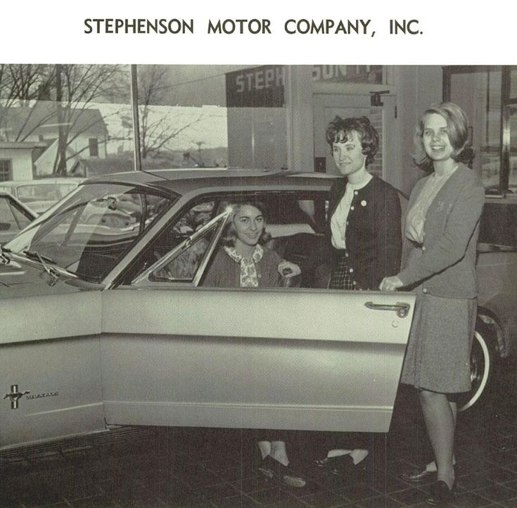 Mustang Ford Dealership and the cool women you meet driving Mustangs. #WhiteMarshFord