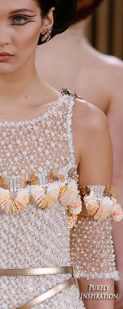 Chanel Spring 2016 Haute Couture (runway details) | Purely Inspiration                                                                                                                                                                                 More
