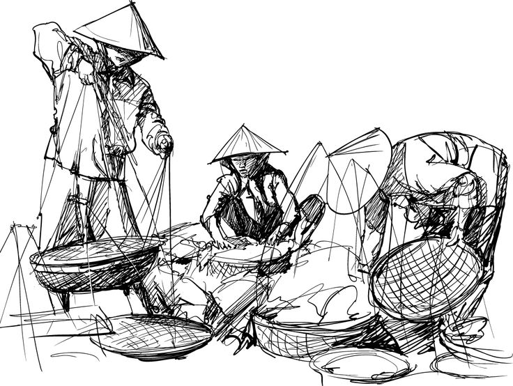 Vietnam sketch