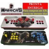 Controle Arcade Duplo Usb Para Pc/ps3/raspberry - 16 Botões
