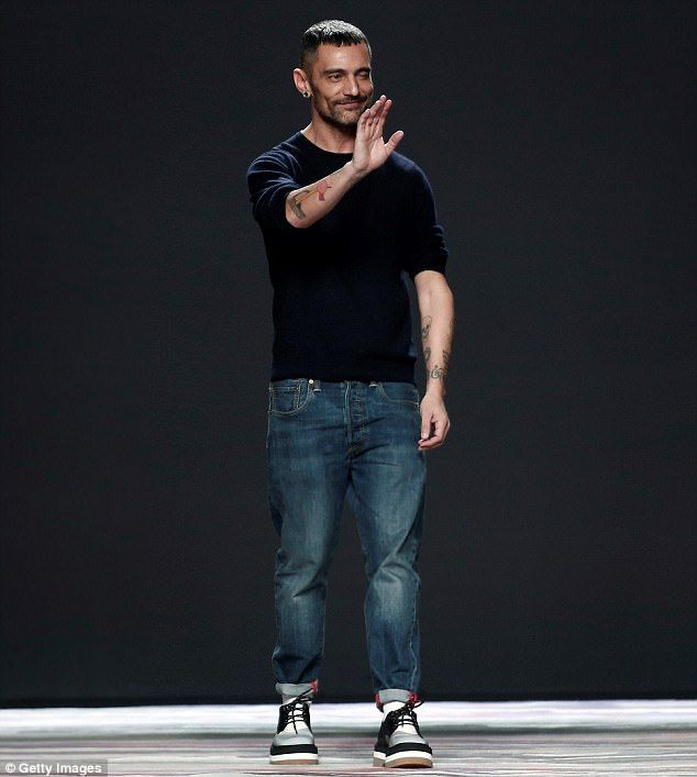David Delfin, a Spanish fashion designer, has died after a battle with cancer. He was 46; seen in 2016