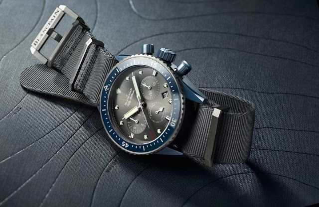 Blancpain Fifty Fathoms Bathyscaphe Flyback Chronograph Blancpain Ocean Commitment