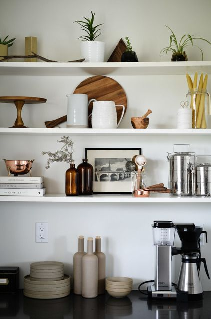 Best floating shelf kitchen ideas design for open about decor pinterest best free home - Kitchen shelves ideas ...