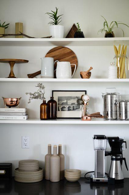 kitchen shelf decor kitchen styling open shelving apartment ideas