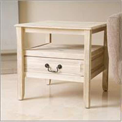 Ashley White End Table | Pier 1 Imports