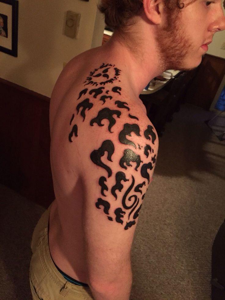 Curse mark tattoo done edge winston salem nc curse