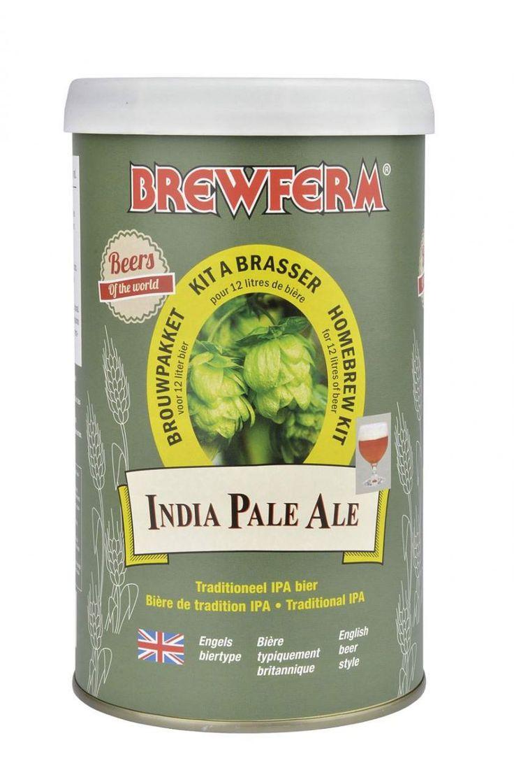 İngilizlerin meşhur geleneksel IPA (India Pale Ale) birasını şimdi Brewferm IPA kitiyle kendi mutfağınızda ve en uygun fiyatla yapabilirsiniz.  Hafif amber renkli ve dolgun gövdeli, baharatlı, IPA'lara has şerbetçiotu acılığıyla lezzetli bir biradır.   Brewferm ustalığıyla hazırlanmış hazır bira kitleriyle, türlerinin en lezzetli ve en hesaplı biralarını  kendi mutfağınızda hazırlayın!    Başlangıç yoğunluğu (OG) : 1.065.  Alkol oranı : %6,5  12  litre için. #beer #brewferm #bira #ıpa