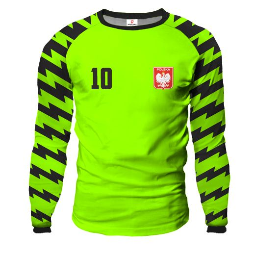 ARROW Goalkeeper Jersey With Custom Name And Number lime