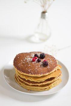 Recette de pancakes légers vegan et sans gluten