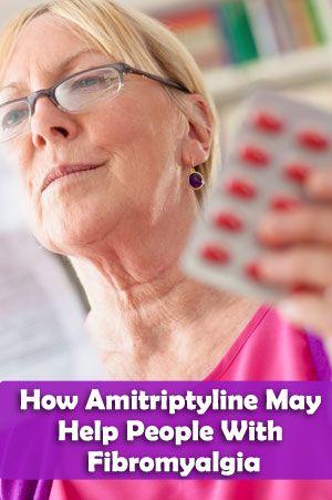 How Amitriptyline May Help People With Fibromyalgia