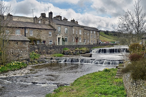 Gayle Beck, Hawes, Yorkshire Dales, England.