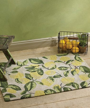 Take A Look At This Lemons Rug By Park Designs On #zulily Today!