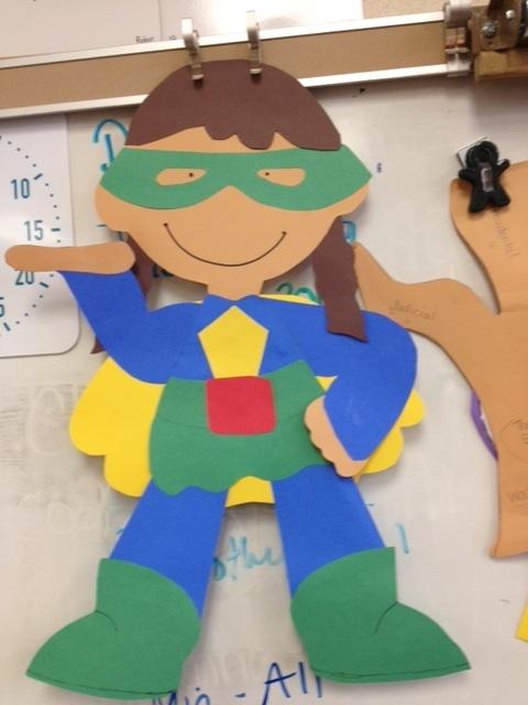 Calling All Earth Day Superheros…. Superhero Craft