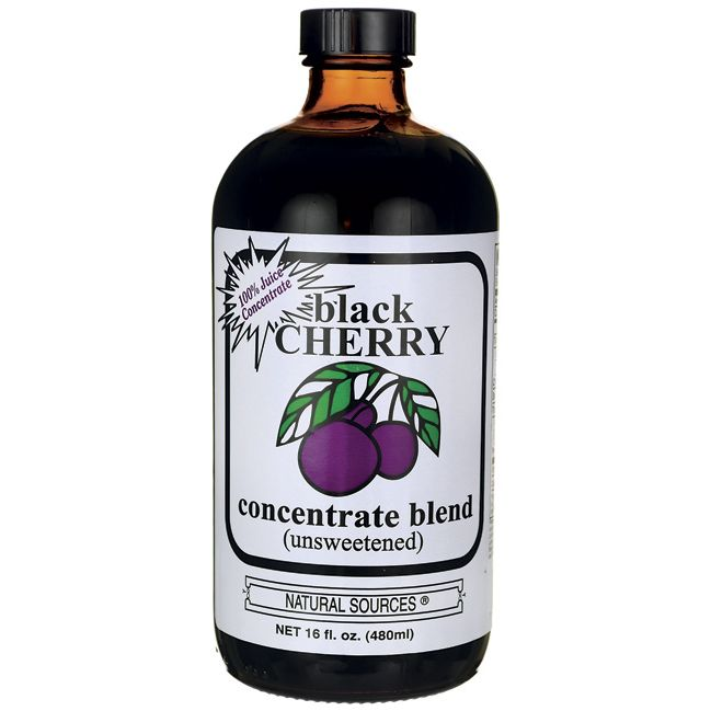 Black Cherry Concentrate Blend Unsweetened, 16 fl oz Liquid AED256.00 #UAESupplements