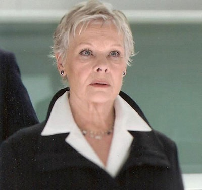 Judi Dench - my original short hair cut inspiration, along with being a fabulous lady.